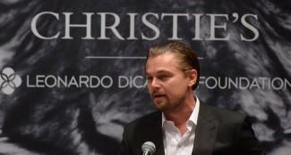 Leonardo-DiCaprio-cohosted-art-auction-NYC-Christie