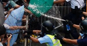 hongkong tüntetés