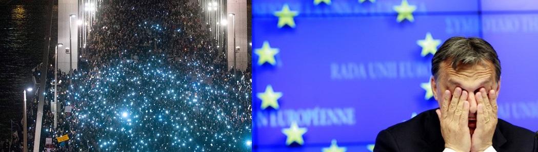 internetado tuntetes Orban