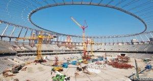 stadionépítés