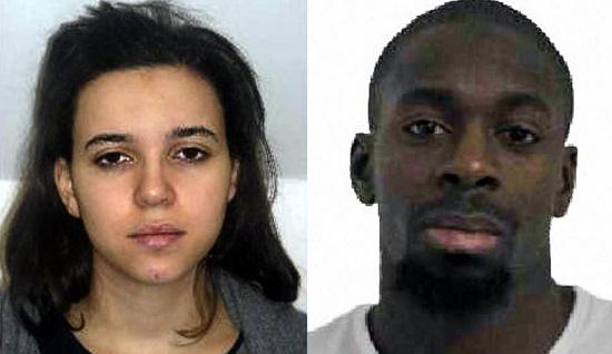 Párizs terrorista pár