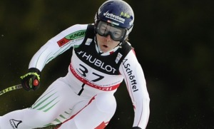 Image: Hungary's Edit Miklos  competes during t