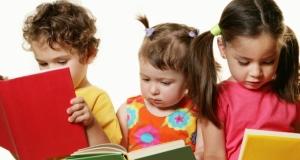 tanuló gyerekek