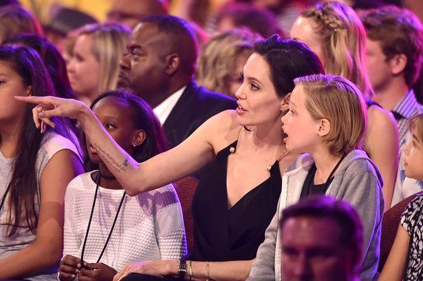 Angelina Jolie Kid's Awards 2015