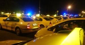 taxis demonstráció