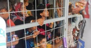 Menekült gyerekek Szeged