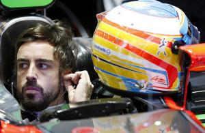 2015 F1 Pre Season Test 2 - Day 2 Circuit de Catalunya, Barcelona, Spain. Friday 20 February 2015. Fernando Alonso, McLaren, in the garage. World Copyright: Alastair Staley/LAT Photographic. ref: Digital Image _79P3832