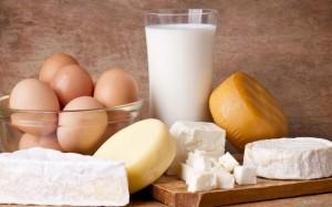 zsíros tejtermékek tojás