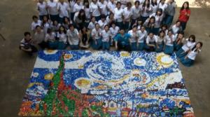 PET Van Gogh