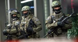 München rendőrök, kommandósok