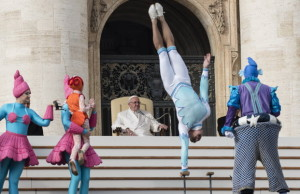 Pápa és a cirkusz