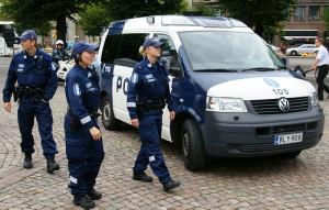 finn rendőrség