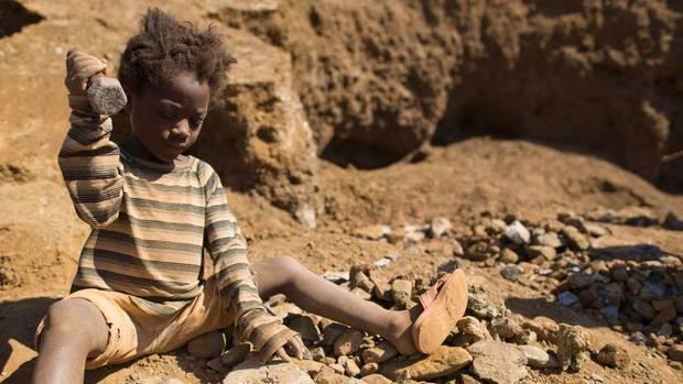 gyermekmunka Kongó