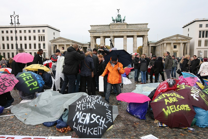 menekültügy Németország