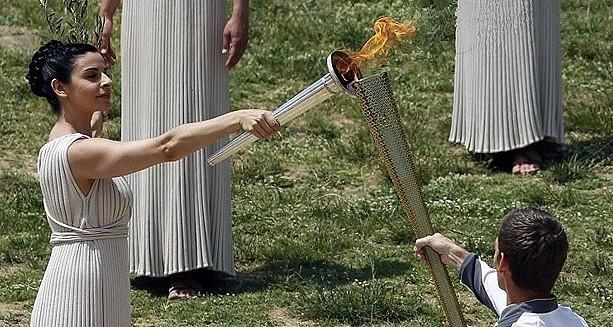 olimpiai láng