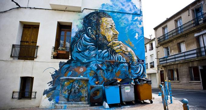 Christian Guémy graffiti