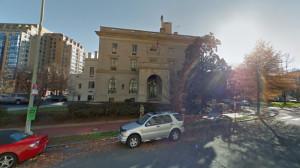 nagykövetség, 1500 Rhode Island Ave. NW