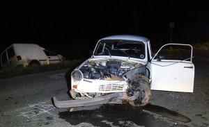 Trabi baleset-Donka