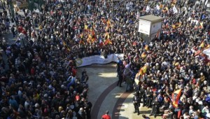 bikaviadal tüntetés-Jose jordan AFP