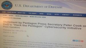 hacker pentagon