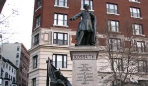 kossuth szobor - usa