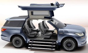 Gullwing doors provide greater access to the interior sanctuary, making entry and exit quicker and easier.