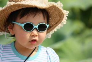 menő napszemcsis gyerek