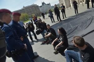 Pm parlament demonstráció.túry