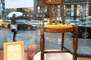 harry potter szék