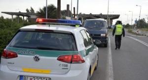 szlovák rendőr, határ