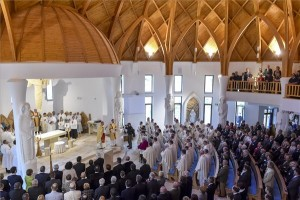 veresegyházi templom felszentelése
