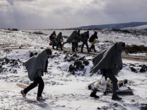hóban a menekültek