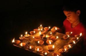 lámpa india
