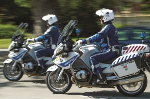 motoros rendőr