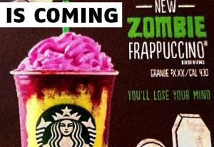 starbucks zombiie
