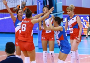 szerb női röpi válogatott