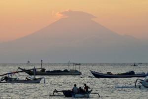 agung vulkán