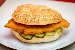 csirkefalat-szendvics