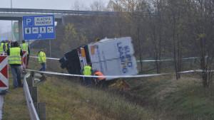 felborult kamion