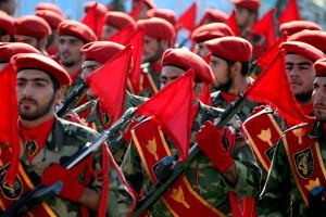 iráni katonák