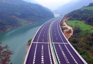 kína autópálya