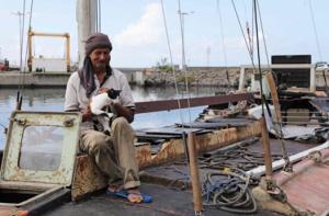 macskás hajótörött