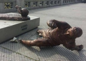 messi szobor