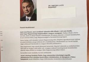 simicska orbán levél
