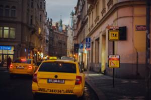 prága taxi