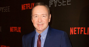 "BEVERLY HILLS, CA - MAY 08:  Actor Kevin Spacey attends Netflix's ""House Of Cards"" for your consideration event at Netflix FYSee Space on May 8, 2017 in Beverly Hills, California.  (Photo by Earl Gibson III/Getty Images)"