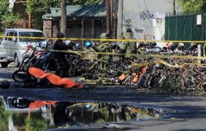 robbantás indonézia